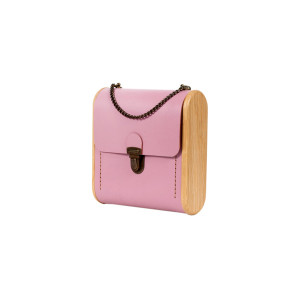 CAPE BRETON rose quartz handbag