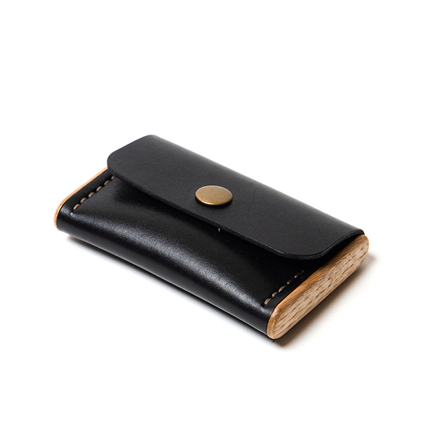 BREATLEY cardholder black onyx