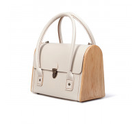 CEILI beige handbag