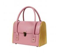 CEILI rose quartz handbag