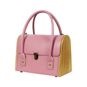 CEILI rose quartz handbag