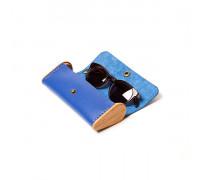 BREATLEY Royal blue eyeglass case