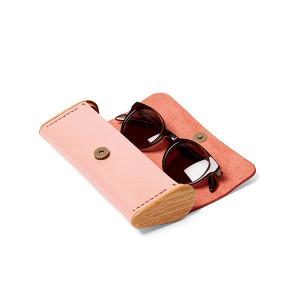 BREATLEY eyeglass case rose quartz