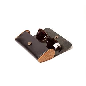 BREATLEY black onyx eyeglass case