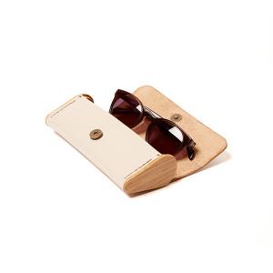 BREATLEY eyeglass case beige