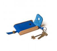 BREATLEY key case blue