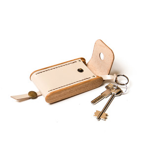 BREATLEY key case beige
