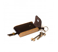 BREATLEY key case dark choco