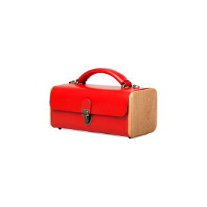 LADIES' STEP red handbag