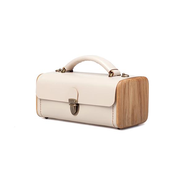LADIES'STEP beige handbag