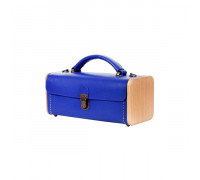 LADIES' STEP Royal blue handbag
