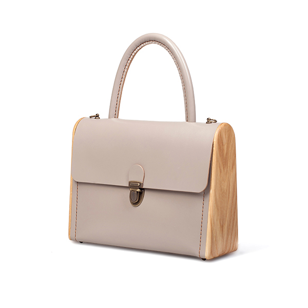 MOLLY cream handbag