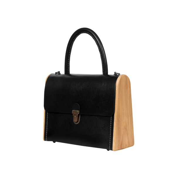 MOLLY black onyx handbag