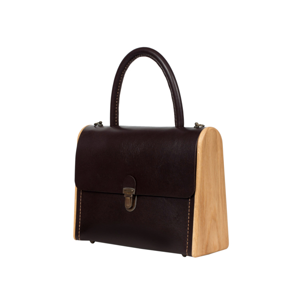 MOLLY dark choco handbag