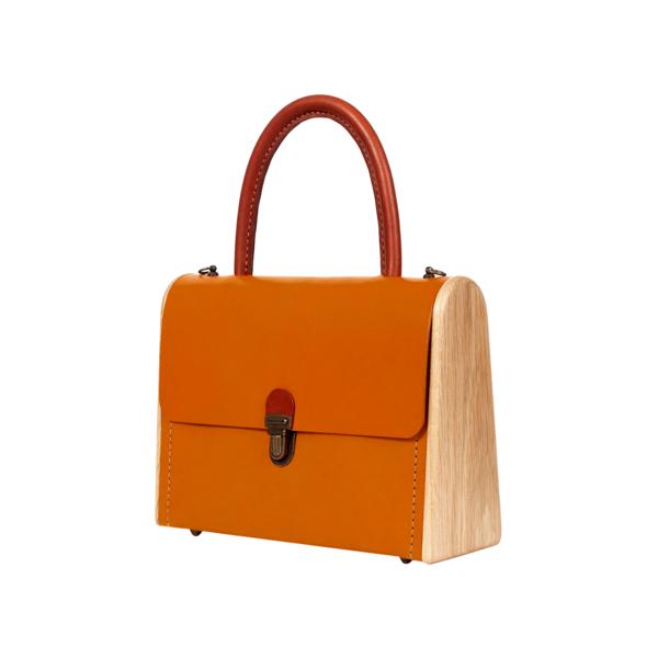 MOLLY fresh carrot handbag
