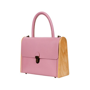 MOLLY rose quartz handbag