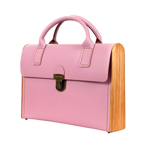 Портфель МОРРИС розовый кварц