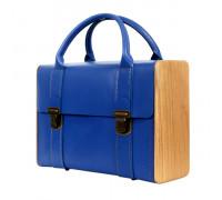 SIR ROGER DE COVERLEY Royal blue briefcase