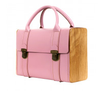 SIR ROGER DE COVERLEY rose quartz briefcase
