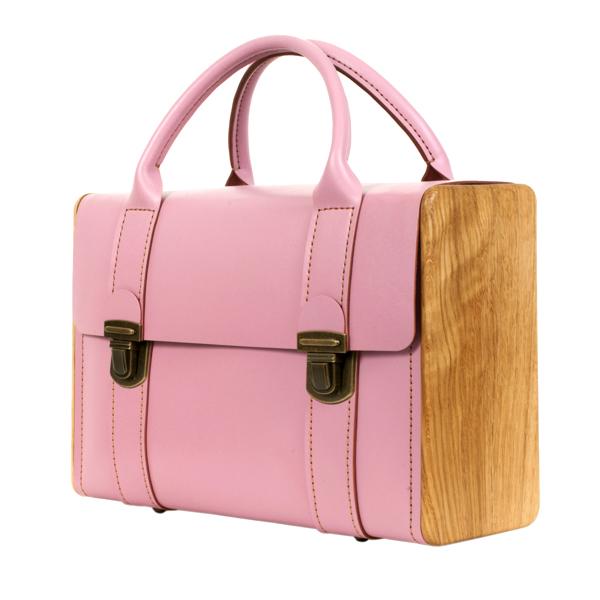 SIR ROGER DE COVERLEY rose quartz briefcase