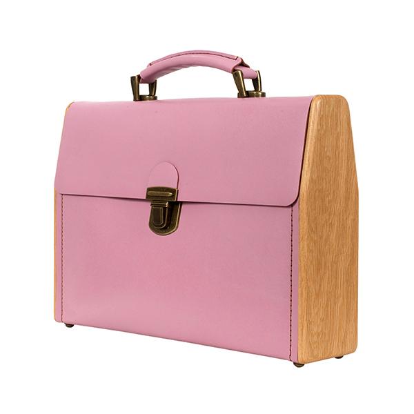 Портфель ВЕЛЬШ КЛОГ розовый кварц