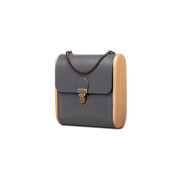 CAPE BRETON graphite handbag
