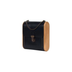 CAPE BRETON black onyx handbag