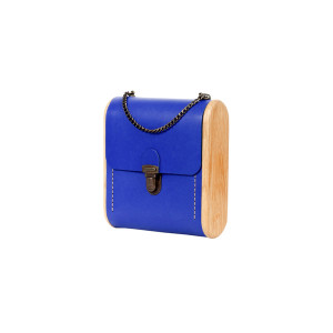 CAPE BRETON Royal blue handbag