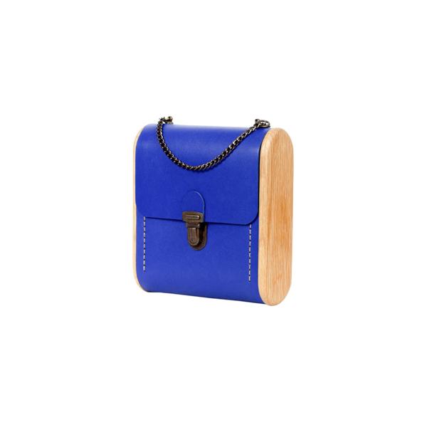 CAPE BRETON Royal blue handbag