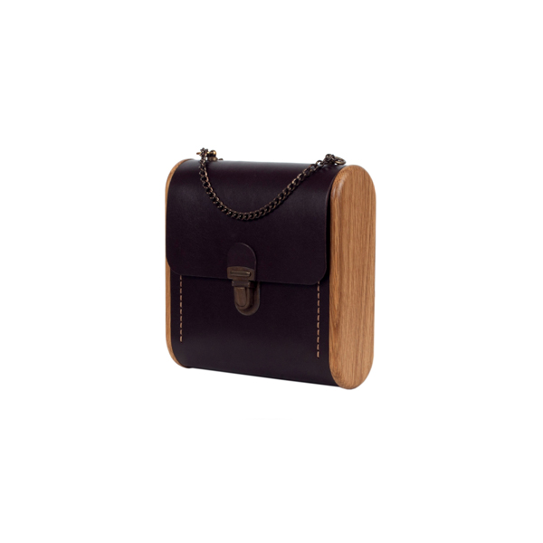 CAPE BRETON dark choco handbag