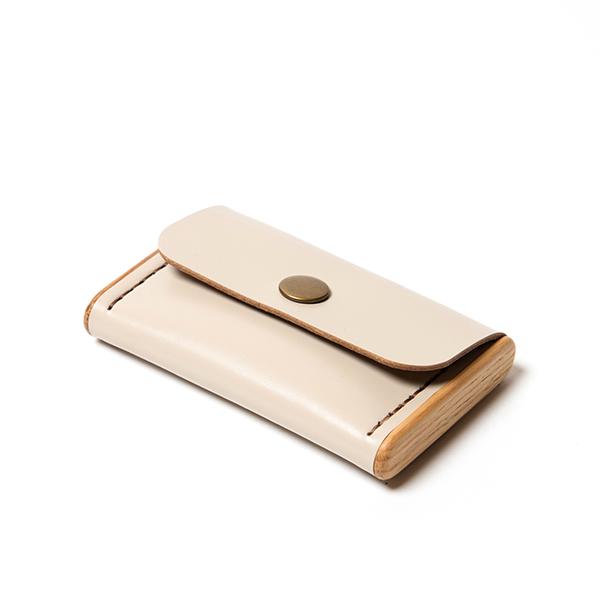 BREATLEY cardholder beige