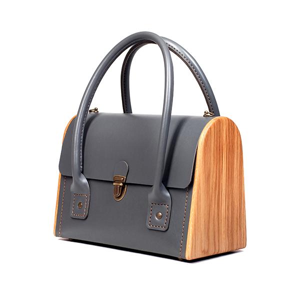 CEILI graphite handbag