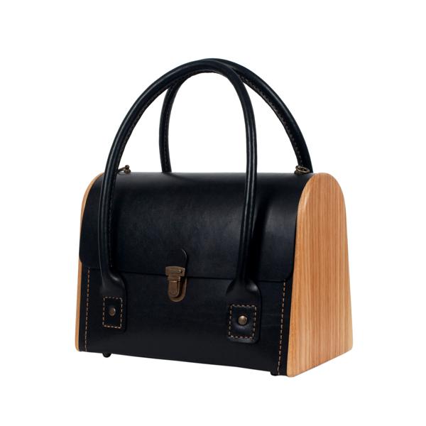 CEILI black onyx handbag