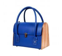 CEILI Royal blue handbag