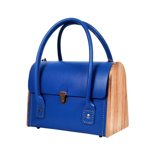 CEILI Royal blue handbag