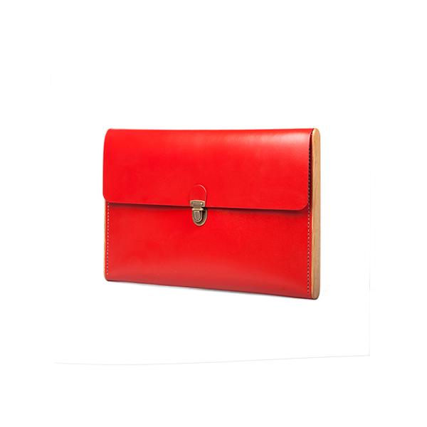 CHANTEY red сlutch-folder