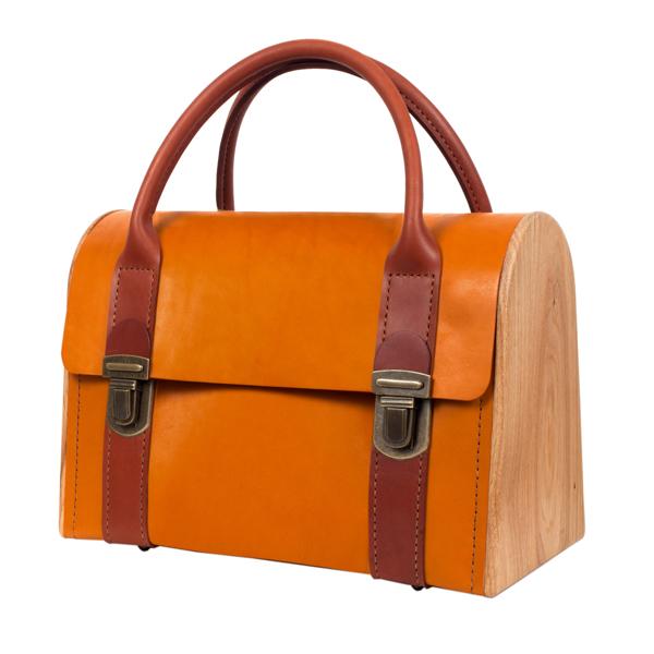 JENNY PLUCK PEARS fresh carrot handbag