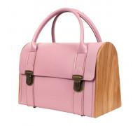 JENNY PLUCK PEARS rose quartz handbag