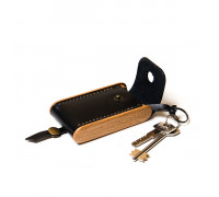 BREATLEY key case black onyx