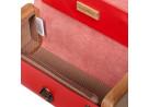 LADIES'STEP red handbag