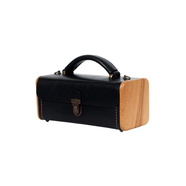 LADIES'STEP black onyx handbag