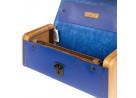 LADIES'STEP Royal blue handbag