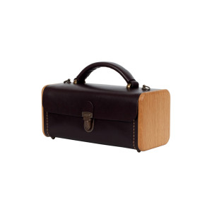 LADIES' STEP dark choco handbag