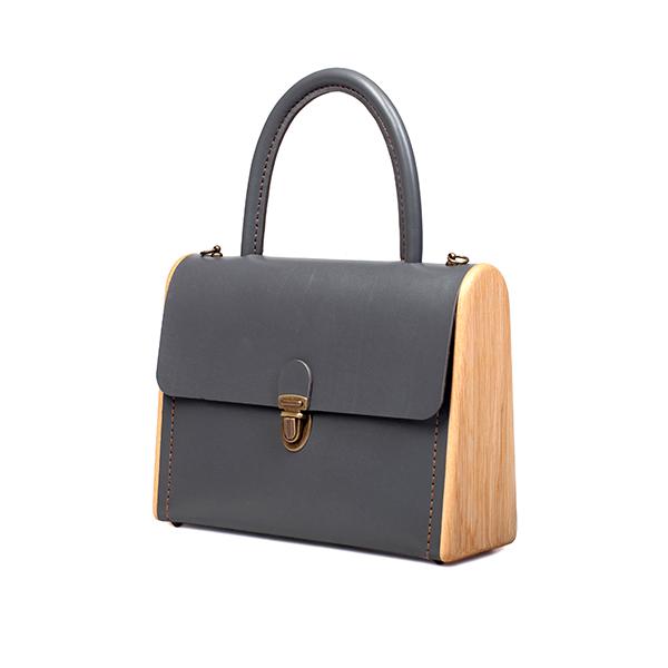 MOLLY graphite handbag