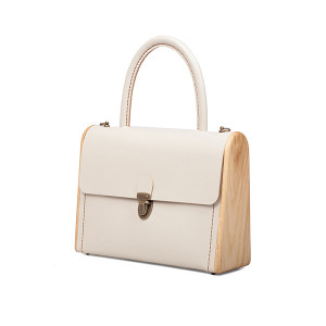 MOLLY beige handbag