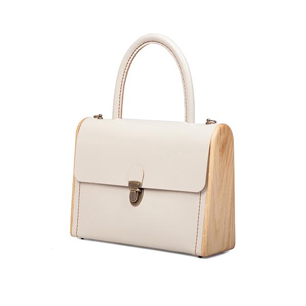 MOLLY beige handbag