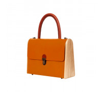 MOLLY fresh carrot handbag