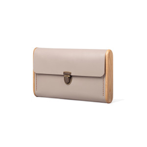 SINGLE REEL cream clutch